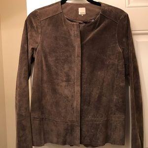 Real suede jacket
